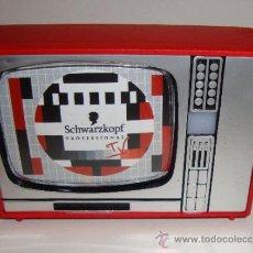 Coleccionismo: CURIOSO VISOR TELEVISION PUBLICITARIO SCHWARZKOPF MADE IN SPAIN. Lote 34328961