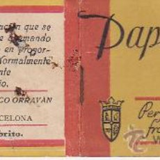 Sammelleidenschaft Papier - LIBRITO PAPEL SANDALO ORRAVAN - BARCELONA - - 34409040