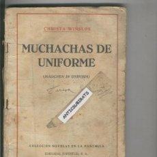 Coleccionismo: CHRISTA WINSLOE. MUCHACHAS DE UNIFORME.MADCHEN IN UNIFORM.. Lote 34450103