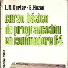Coleccionismo: CURSO BÁSICO DE PROGRAMACIÓN EN COMMODORE 64. Lote 34632404