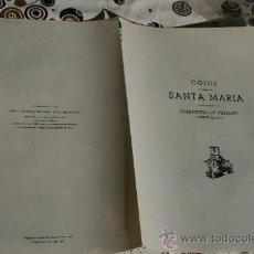 Coleccionismo: GOIG DE SANTA MARIA . Lote 34900576
