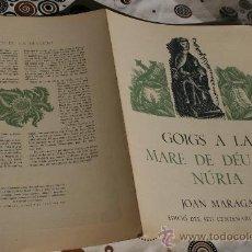 Coleccionismo: GOIGS A MARE DE DEU DE NURIA. Lote 34900678
