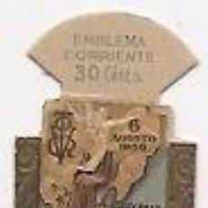 Coleccionismo: EMBLEMA DE AUXILIO SOCIAL. CONVOY DE LA VICTORIA. GUERRA CIVIL. Lote 35110264