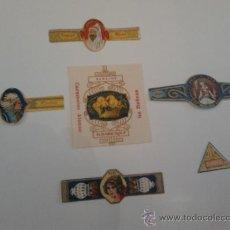 Coleccionismo: ENVOLTORIOS DE BOMBONES Y CARAMELOS CON MAS DE 100 AÑOS LOTE DE 6. Lote 35543256