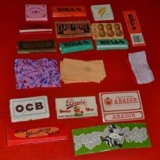 Coleccionismo: PAPEL DE FUMAR COLECCION LIBROS DE PAPEL ANTIGUOS. Lote 35583686