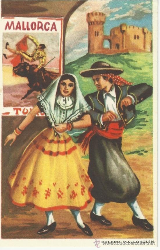 BOLERO MALLORQUIN (Coleccionismo - Laminas, Programas y Otros Documentos)