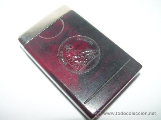 Coleccionismo: ANTIGUO ESTUCHE DE BAKELITA CON RECAMBIO DE HOJA DE AFEITAR. - Foto 4 - 36162020
