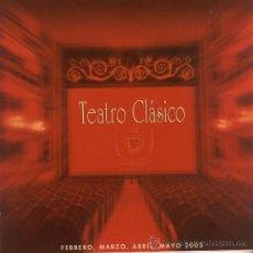 Coleccionismo: PROGRAMA TEATRO TEATRO CLÁSICO (TEATRO CAMPOAMOR. 2005). Lote 36480615
