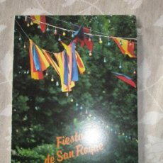 Coleccionismo: PROGRAMA DE FIESTAS DE SAN ROQUE. SIGUENZA. 1991. Lote 36621812
