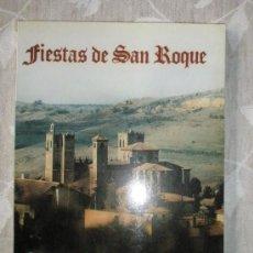 Coleccionismo: PROGRAMA DE FIESTAS DE SAN ROQUE. SIGUENZA. 1995. Lote 36621825