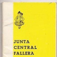 Coleccionismo: AGENDA DE LA JUNTA CENTRAL FALLERA 1975-76. VALENCIA. FALLAS DE VALENCIA. Lote 36755010