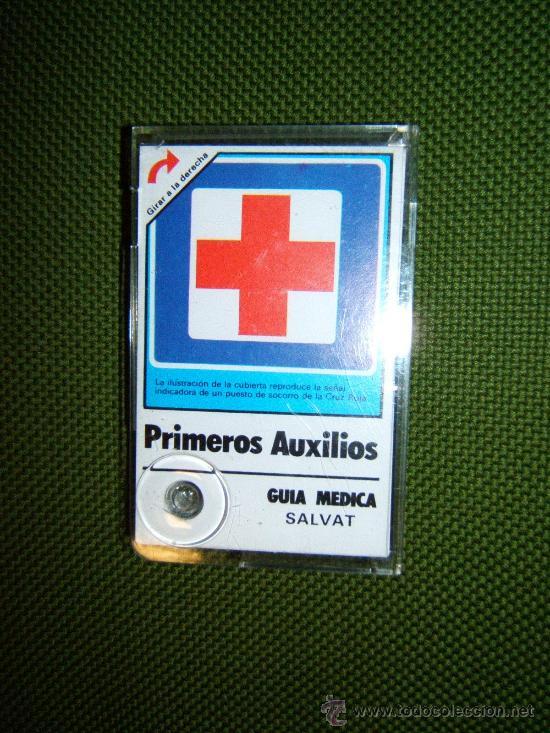 PRIMEROS AUXILIOS - GUIA MEDICA - MAXIMM AB SUECIA - HARRY THELL - 11X 7 CM. - SALVAT - AÑO 1982. (Coleccionismo - Laminas, Programas y Otros Documentos)