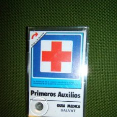 Coleccionismo: PRIMEROS AUXILIOS - GUIA MEDICA - MAXIMM AB SUECIA - HARRY THELL - 11X 7 CM. - SALVAT - AÑO 1982.. Lote 36918501