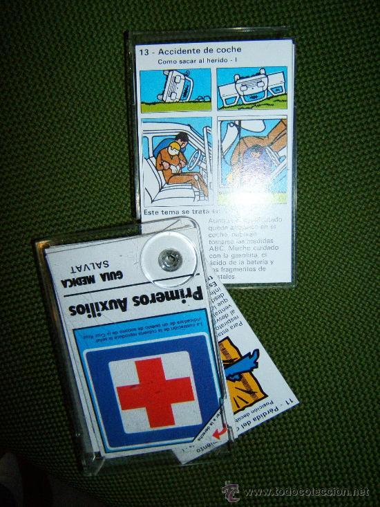 Coleccionismo: PRIMEROS AUXILIOS - GUIA MEDICA - MAXIMM AB SUECIA - HARRY THELL - 11X 7 CM. - SALVAT - AÑO 1982. - Foto 4 - 36918501