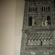 Coleccionismo: TERUEL TORRE DE SAN MARTIN ANTIGUO HUECOGRABADO AÑOS 40. Lote 37025838