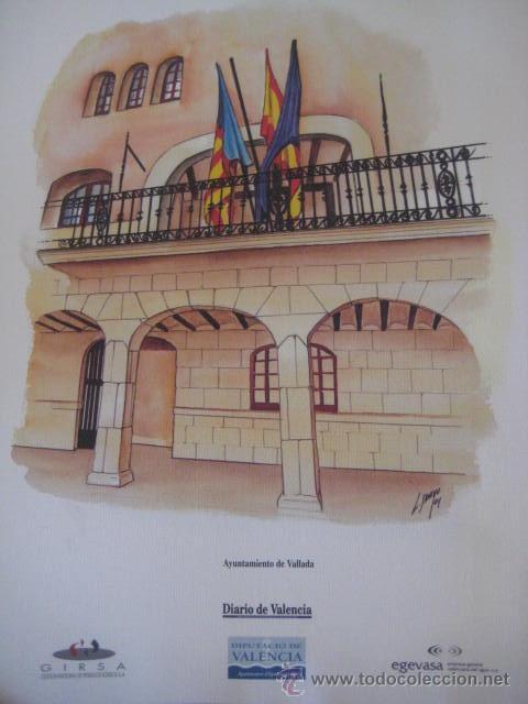 Coleccionismo: AYUNTAMIENTOS DE VALENCIA-COLECCION DE SUCURSALES- Luis Sancho Alcayde. 28 LAMINAS A COLOR. - Foto 3 - 37075321