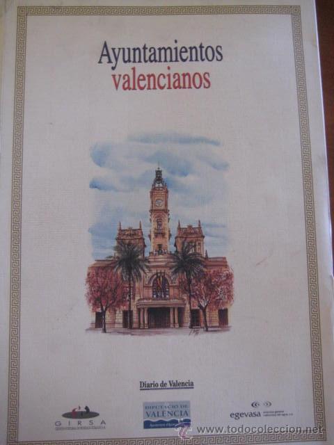 Coleccionismo: AYUNTAMIENTOS DE VALENCIA-COLECCION DE SUCURSALES- Luis Sancho Alcayde. 28 LAMINAS A COLOR. - Foto 6 - 37075321