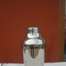 Coleccionismo: ANTIGUA COCTELERA DE ACERO INOXIDABLE AÑOS 50.. Lote 37573875