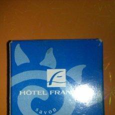 Coleccionismo: MINIATURA JABON - HOTEL FRANTOUR SOAP. Lote 37619873