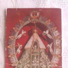 Coleccionismo: ESTAMPA ORACION DE VIRGEN CON ORACION - VER FOTOS. Lote 37754928
