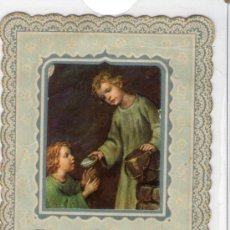 Coleccionismo: RECORDATORIO COMUNION 1954. Lote 37834685