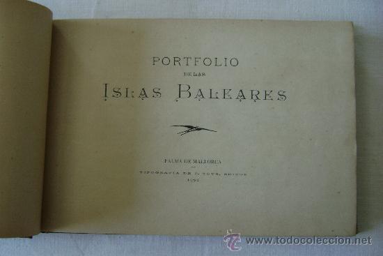Coleccionismo: PORTFOLIO DE LAS ISLAS BALEARES.653 - Foto 2 - 37922219