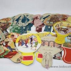 Coleccionismo: PS5841 LOTE DE 26 ABANICOS PUBLICITARIOS, TODOS DE EMPRESAS DE BARCELONA Y DE DIVERSAS ÉPOCAS. Lote 38090331