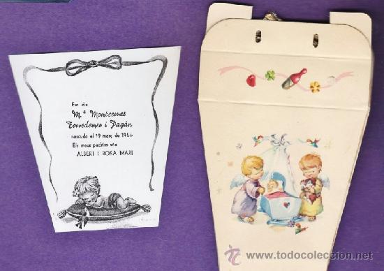 Coleccionismo: nacimiento / bautizo - mª montserrat torredemer pagan - il. vernet - tarragona / tgn - año 1966 - Foto 1 - 38489726