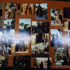 Coleccionismo: TROBADA DE GEGANTS A MANRESA 21 FEBRER 1987.REPORTAJE FOTOGRAFICO 24 FOTOS.. Lote 38507605