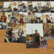 Coleccionismo: REPORTAJE FOTOGRAFICO DE TROBADA GEGANTS A LA CREU ALTA. SABADELL ,22-05-1988. 29 FOTOGRAFÍAS . Lote 38754887