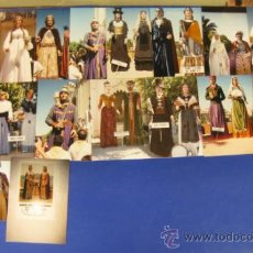 Coleccionismo: REPORTAJE FOTOGRAFICO DE TROBADA GEGANTS A SANT JUST DESVERN. 5-06-1988. 17 FOTOGRAFÍAS.. Lote 38756136