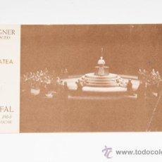 Coleccionismo: ENTRADA DEL LICEO, AÑO 1955. Lote 38903777
