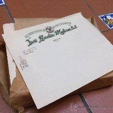 Coleccionismo: FOLIO CON MEMBRETE DE JOSE BADIA MOLINA DE JATIVA (XATIVA). Lote 39010949