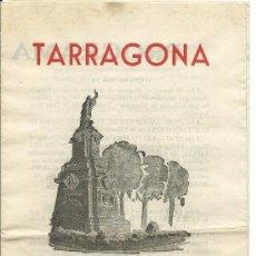 Coleccionismo: TARRAGONA.-PROGRAMA DE FIESTAS DE SAN MAGIN 1960. Lote 39109588