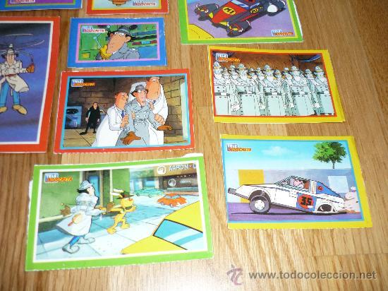 Coleccionismo: 10 PEGTINAS TELEINDISCRETA EL INSPECTOR GADJET - Foto 3 - 39159763