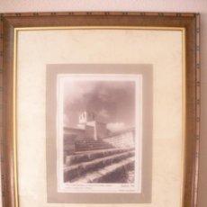 Coleccionismo: CUADRO CON FOTO DE JUAREZ,98. WAMBA-VALLADOLID-.DEDICADO.. Lote 39195799