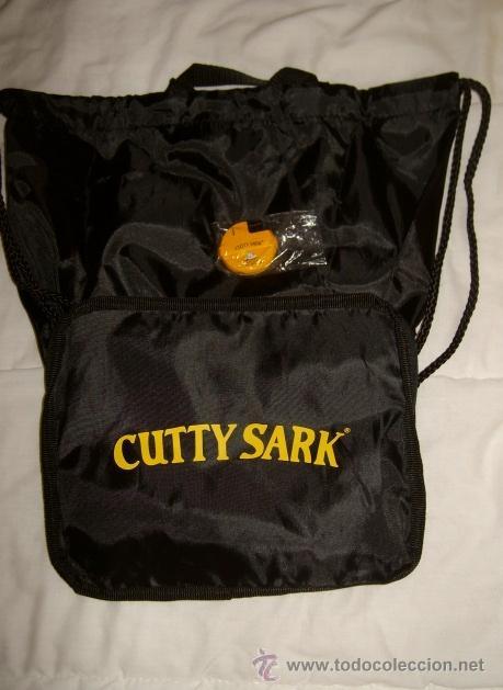 Coleccionismo: Mechero y bolsa ** Cutty Sark ** (Año 2000) - Foto 2 - 24443076