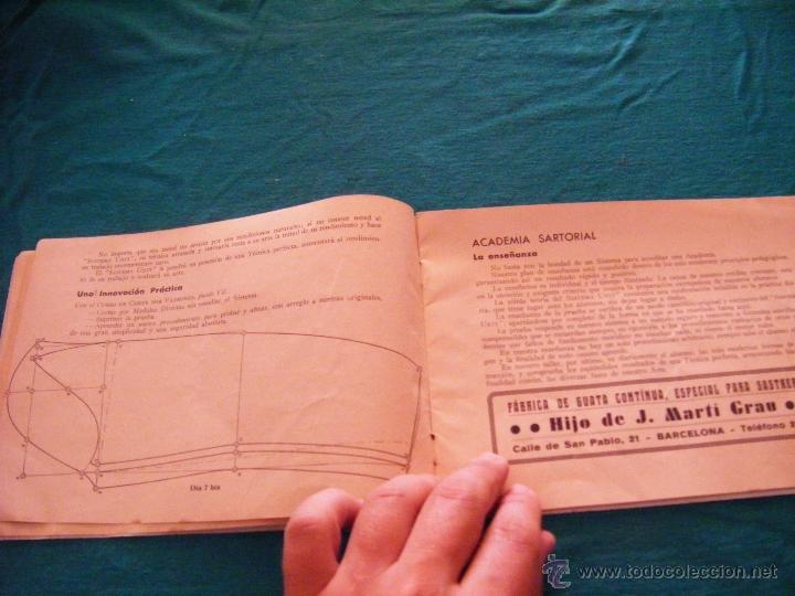 Coleccionismo: SISTEMA UNIT, SOLUCIÓN DE LOS PROBLEMAS DEL ARTE SARTORIAL, MIGUEL RODRIGUEZ, BARCELONA, COSTURA - Foto 5 - 39583692