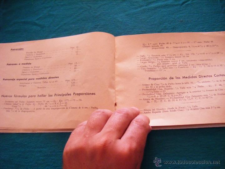 Coleccionismo: SISTEMA UNIT, SOLUCIÓN DE LOS PROBLEMAS DEL ARTE SARTORIAL, MIGUEL RODRIGUEZ, BARCELONA, COSTURA - Foto 7 - 39583692