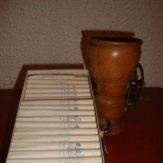 Coleccionismo: MAQUINA DE LLENAR CIGARRILLOS Y CAJA DE EMBOQUILLADOS. Lote 39616550