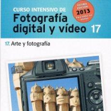 Coleccionismo: CD ROM CURSO FOTOGRAFÍA DIGITAL Y VÍDEO. 17 ARTE Y FOTOGRAFÍA. EL MUNDO 2013. Lote 39990390