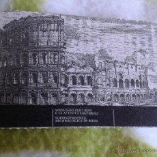 Coleccionismo: ENTRADA TICKET COLISEO ROMANO PALATINO Y FORO ROMA ITALIA ABRIL 2010 . Lote 39998988