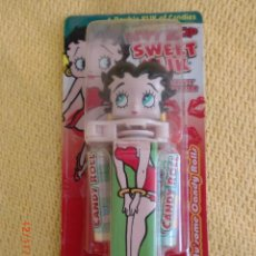 Coleccionismo: BETTY BOOP SWEET KLIK CANDY DISPENSER, BLUE, BRAND NEW IN PACKAGE. Lote 40017937