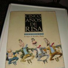 Coleccionismo: CARPETA CON 25 LÁMINAS DE RICARDO Y NACHO, CARICATURAS. Lote 40166686