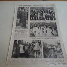 Coleccionismo: 1926 - HOJA -NUEVO GOBERNADOR, FUNCION BENEFICA, BARCELONA , BADALONA, RIPOLLET , EIBAR GUIPUSCOA. Lote 40308904