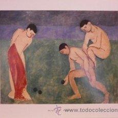 Coleccionismo: LÁMINA 33 X 42 CMS: JUEGO DE BOLOS (MATISSE). Lote 40424205