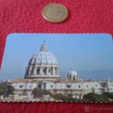 Coleccionismo: TICKET ENTRADA CUPULA VATICANA CIUDAD DE VATICANO ROMA ITALIA AÑO 2010 BONITA. CATEDRAL DE SAN PEDRO. Lote 40426735