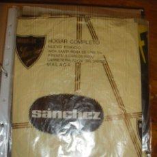 Coleccionismo: PLIEGO DE SANCHEZ, HOGAR COMPLETO. MALAGA.. Lote 40529819