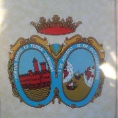 Coleccionismo: COLECCION HERALDICA PUEBLOS DE HUELVA ,ESCUDOS 82 COMPLETA. Lote 40679608