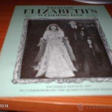 Coleccionismo: PROGRAMA FACSÍMIL DE LA BODA DE LA REINA ISABEL. 1997. Lote 41032960